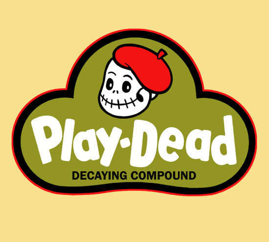 Play-Dead Zombie Play Doh T-Shirt