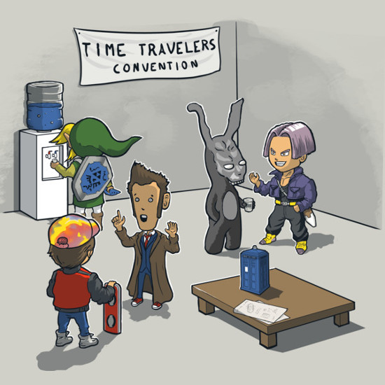 Time Travelers Convention T-Shirt