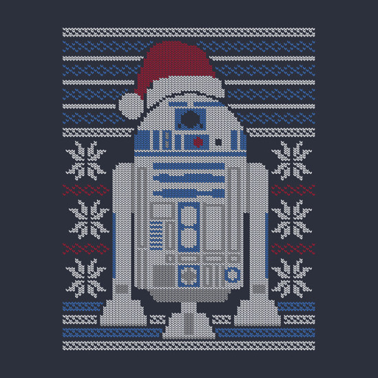 Merry Droidmas R2-D2 Star Wars Christmas T-Shirt