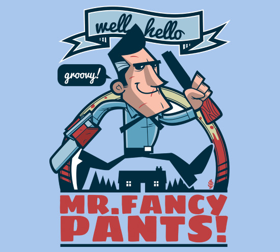 Mr. Fancy Pants Army of Darkness T-Shirt
