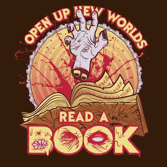 Read a Damned Book Ash vs Evil Dead T-Shirt