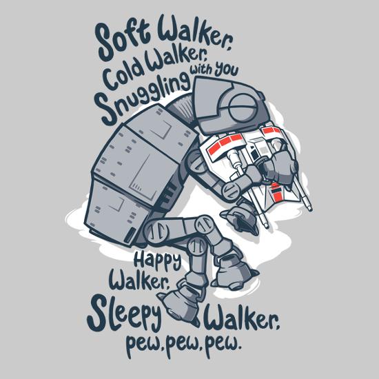 AT-AT Soft Kitty Star Wars Big Bang Theory T-Shirt