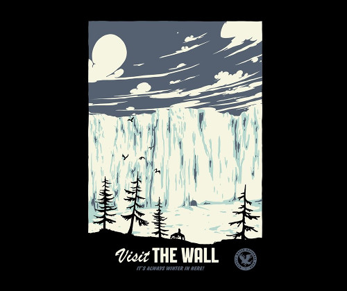 Visit The Wall Game of Thrones T-Shirt