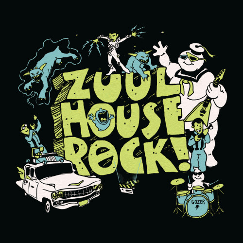Zuul House Rock Ghostbusters School T-Shirt