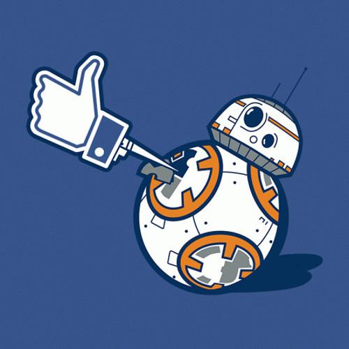 BB-8 Facebook Like Star Wars T-Shirt