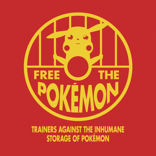Free the Pokemon T-Shirt