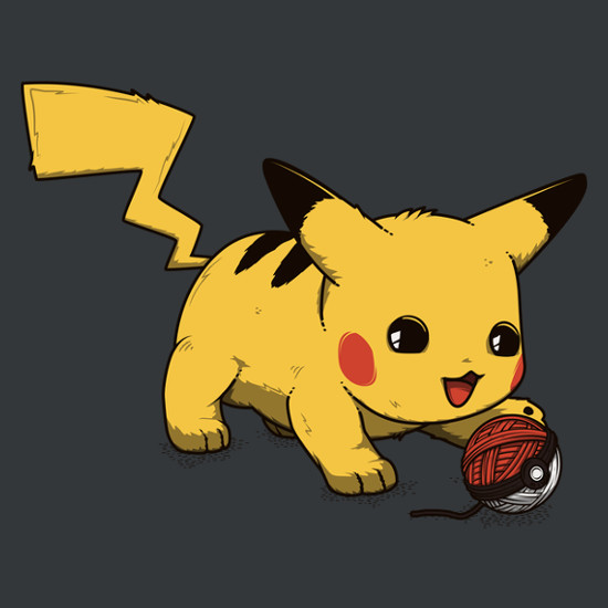Pikachu Cat Pokemon T-Shirt