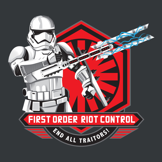 Riot Control Stormtrooper Star Wars The Force Awakens T-Shirt