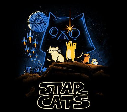 Star Wars Cats A New Hope T-Shirt