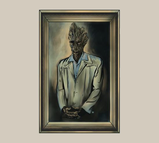 Groot Kramer Guardians of the Galaxy Seinfeld T-Shirt