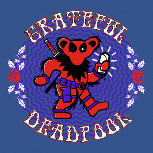 The Grateful Deadpool T-Shirt