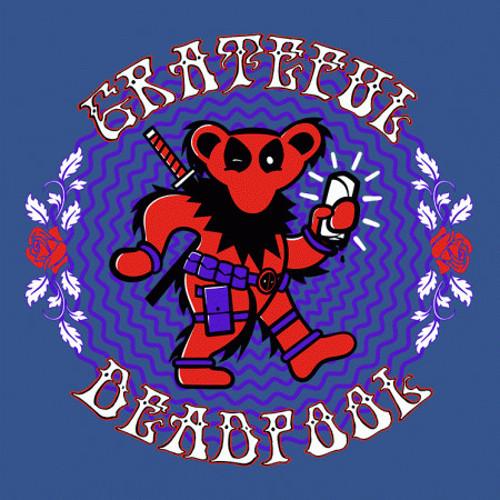 The Grateful Deadpool T-Shirt