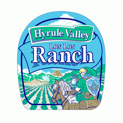 Hyrule Valley Ranch Legend of Zelda T-Shirt