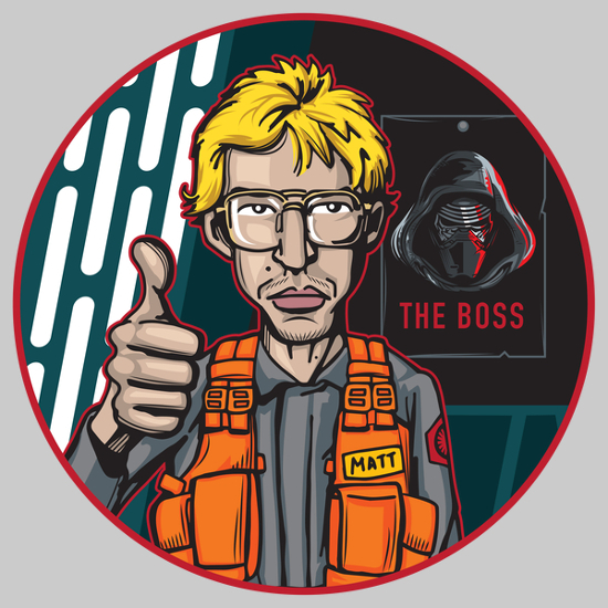 Radar Technician Kylo Ren Star Wars Undercover Boss SNL T-Shirt