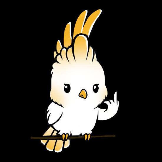 Flipping the Bird Cockatoo T-Shirt