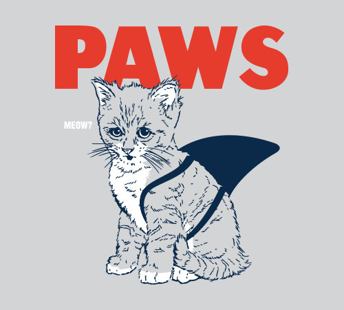 Paws Cat Jaws T-Shirt