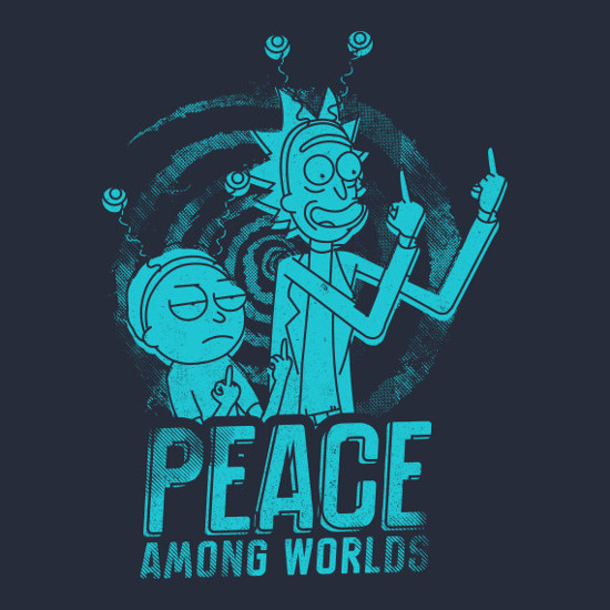 Peace Among Worlds | Shirtigo