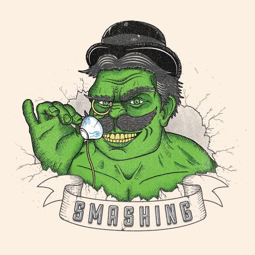 Smashing Hulk Tea T-Shirt