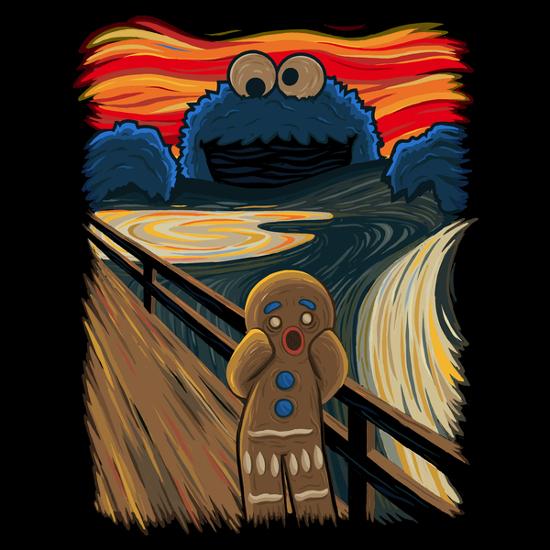 Cookie Monster Scream T-Shirt