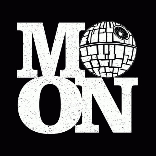 MOON Death Star Tourist Star Wars T-Shirt