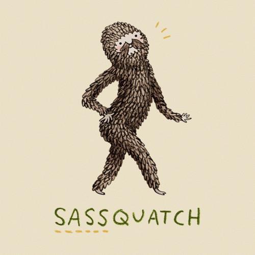 Sassquatch Sassy Bigfoot T-Shirt