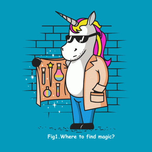 Where to Find Magic Unicorn Drugs T-Shirt