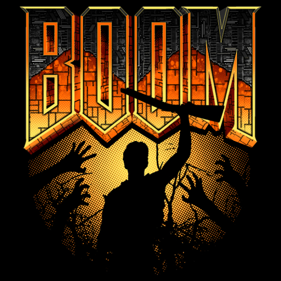 Boom Doom Army of Darkness T-Shirt