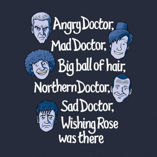Doctor Who Soft Kitty T-Shirt