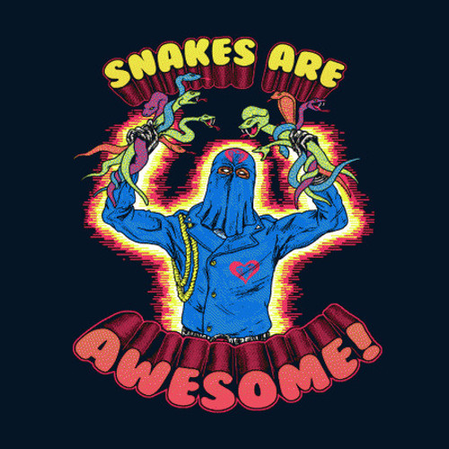 Snakes Are Awesome Cobra GI Joe T-Shirt