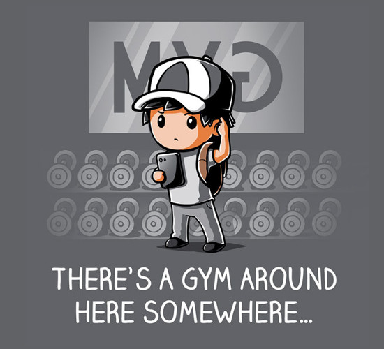 Where's The Gym Pokémon GO T-Shirt