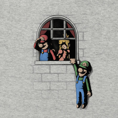 Castle Lovers Funny Super Mario Bros T-Shirt