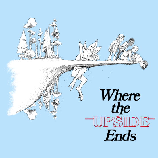 Where the Upside Ends Stranger Things T-Shirt