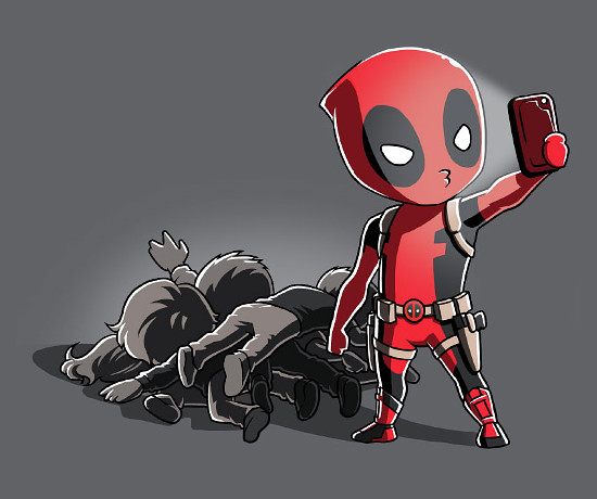 Deadpool Selfie T-Shirt