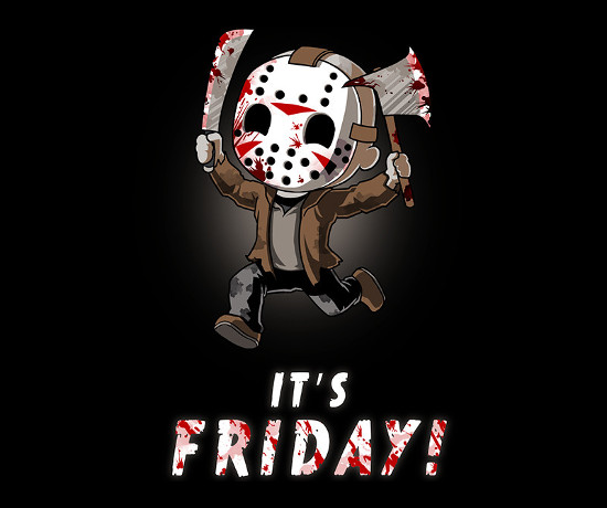 It's Friday! the 13th Jason Voorhees T-Shirt
