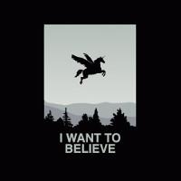 I Want To Believe Unicorn