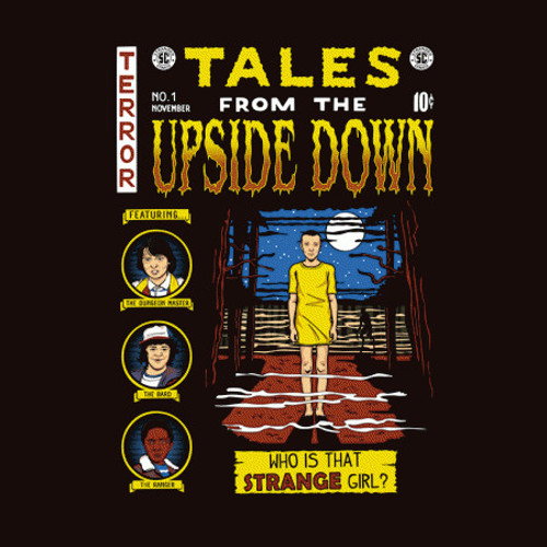 Tales from the Upside Down Stranger Things Comic Book T-Shirt
