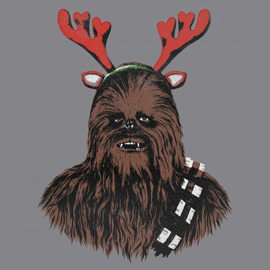 Chewdolph Chewbacca Reindeer Star Wars Christmas T-Shirt
