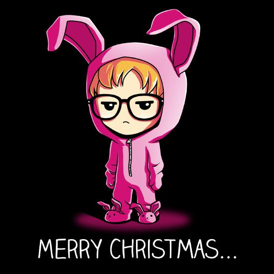 Deranged Easter Bunny Ralphie A Christmas Story T-Shirt