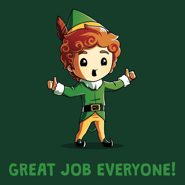 Great Job Everyone Elf Christmas T-Shirt