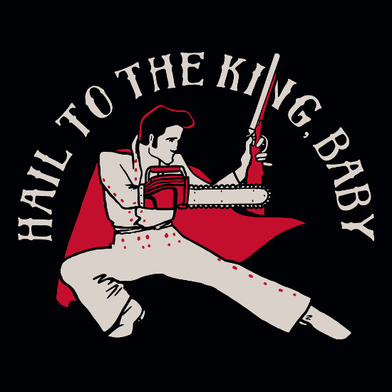 Hail to the King Baby Ash Elvis T-Shirt