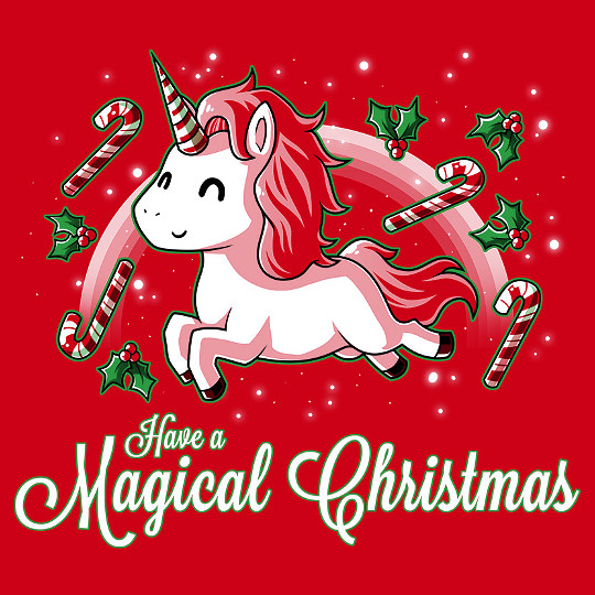 Have a Magical Christmas Unicorn T-Shirt