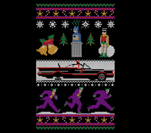 Jingle Bells Batman Smells Christmas Sweater T-Shirt