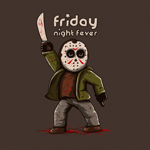 Friday Night Fever Jason Voorhees 13th T-Shirt