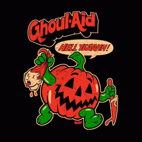 Ghoul-Aid Man Kool-Aid Horror Pumpkin T-Shirt