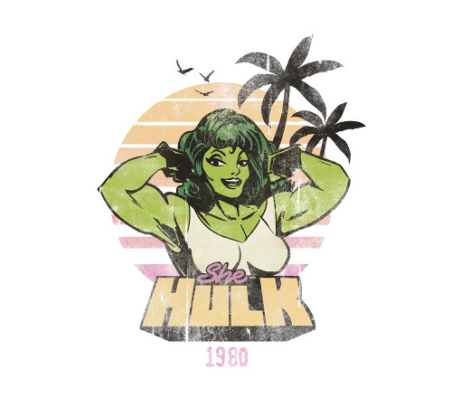 She-Hulk Beach Body T-Shirt