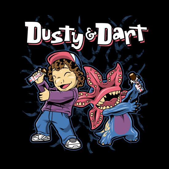 Dusty and Dart Stranger Things T-Shirt