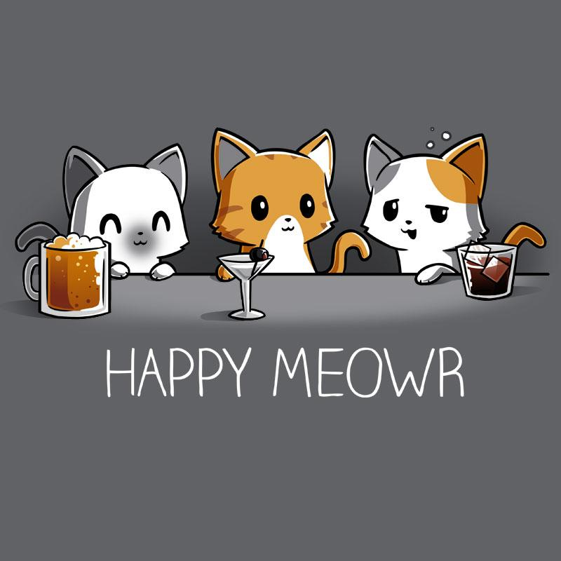Happy Hour Cats T-Shirt