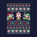 Super Mario Bros Christmas Sweater T-Shirt