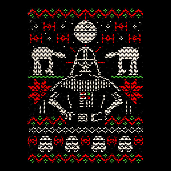 Darth Vader Christmas Sweater T-Shirt