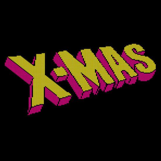 X-Mas X-Men Logo T-Shirt